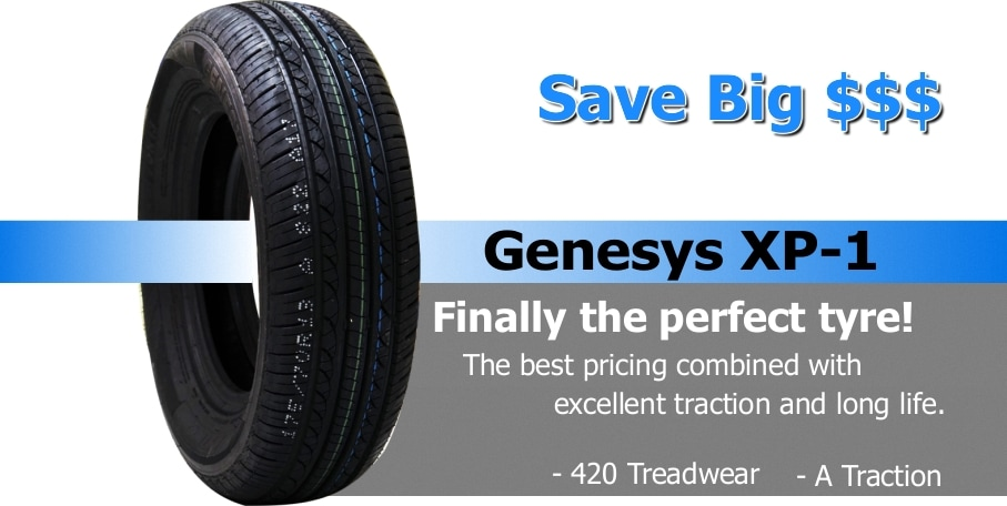 Hilo Genesys XP-1 tyres