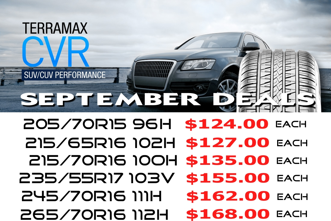 Sailun Terramax CVR September Tyre Specials